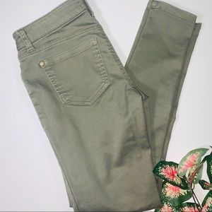 Sexy yet casual army green pants